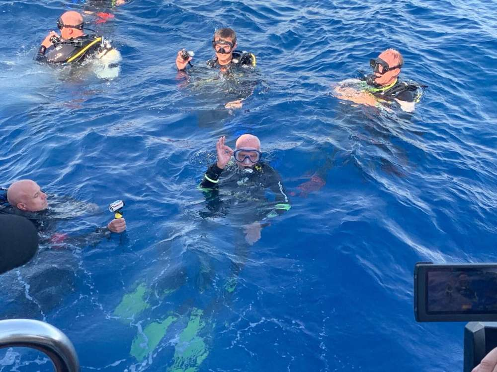 Larnaca: 96-year-old Briton breaks own record as oldest scuba diver (pics)