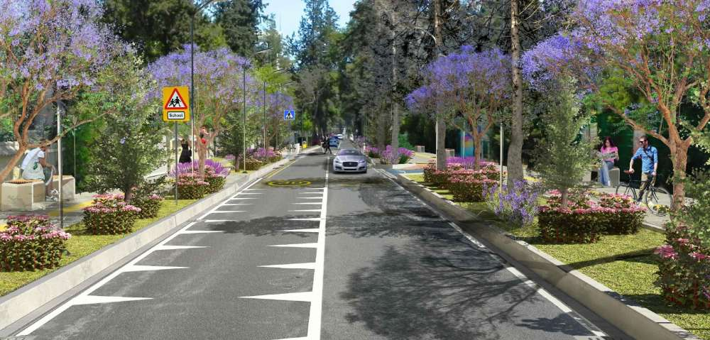 Reconstruction works to start on Kyriakos Matsis avenue
