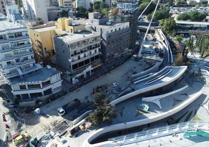 Omirou Avenue approaching completion (photos)