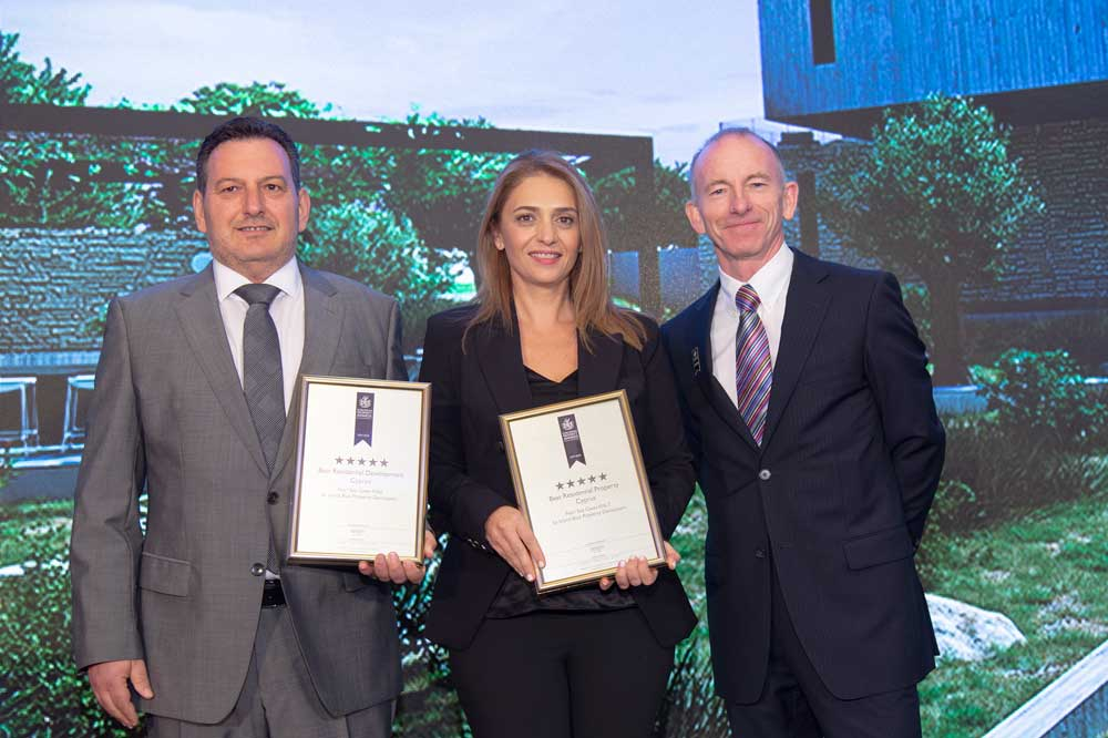 Three awards for Island Blue