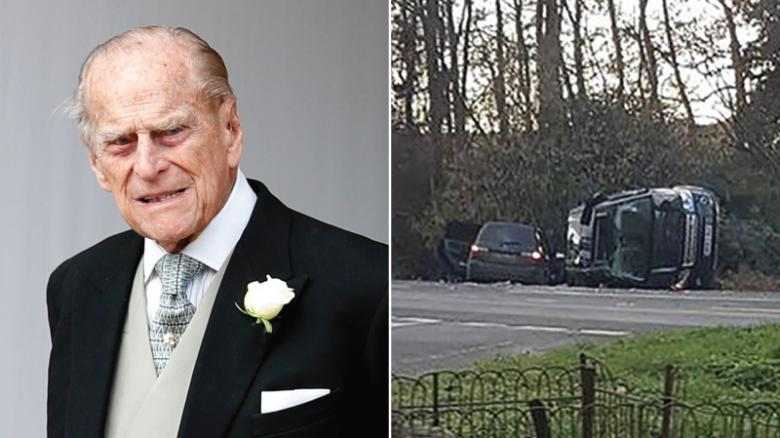 Britain's Prince Philip 'deeply sorry' after car crash