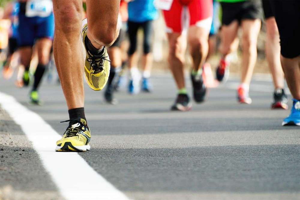 The roads closed on Sunday for the Nicosia marathon