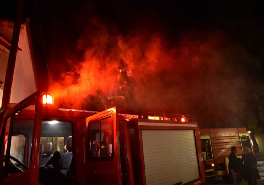 Arson attack on private security firm in Limassol