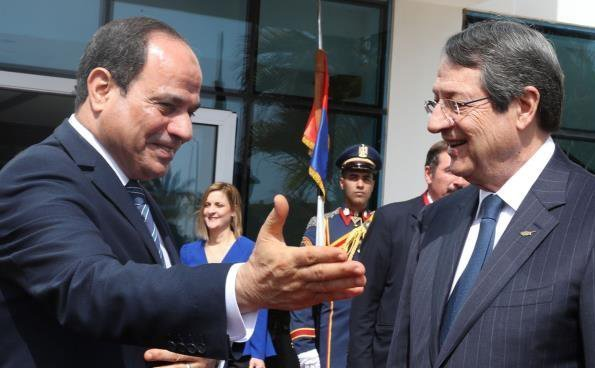 President Sisi thanks Cyprus for its contribution in the establishment of EU-Egypt relations (pics)