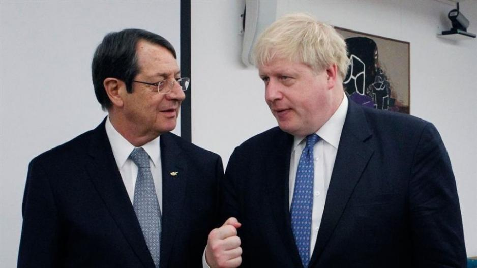 British Prime Minister expresses support to Cyprus and disapproval of Turkish actions