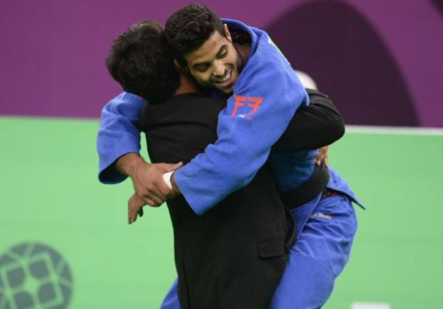 Israel wins judo gold in… the Emirates – Tears of joy for sports minister