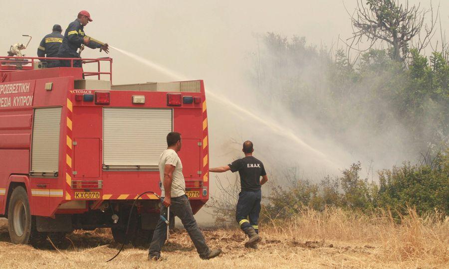 Update - Three fires at Akamas peninsula under control