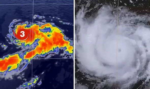 Hurricane Hector closing in on Hawaii and volcano
