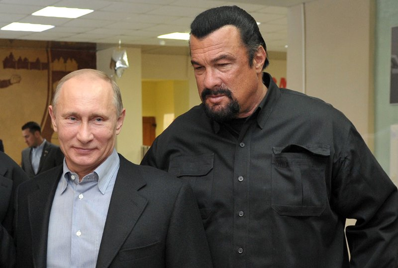 Hollywood actor Steven Seagal made special US-Russia envoy
