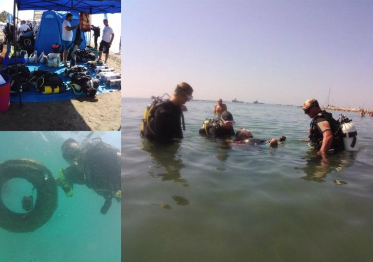 Limassol: Divers with disabilities