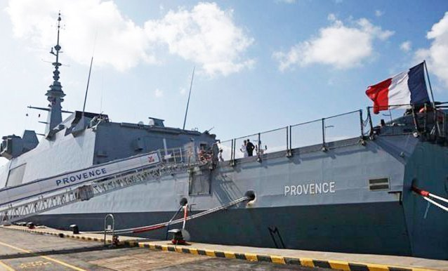 France and Cyprus conduct naval drill off the island's coast