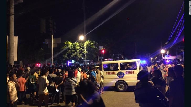 Twin bombings at church kill at least 21 in southern Philippines
