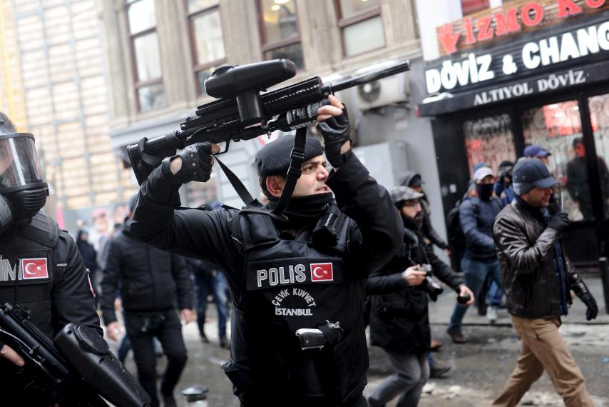 U.S. 'gravely concerned' about reports of civil society indictments in Turkey -State Department