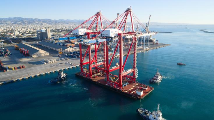 Limassol port an important source of revenue for Cyprus