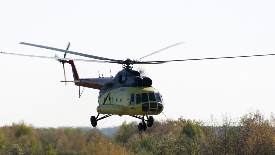 18 people killed in helicopter crash in Russia