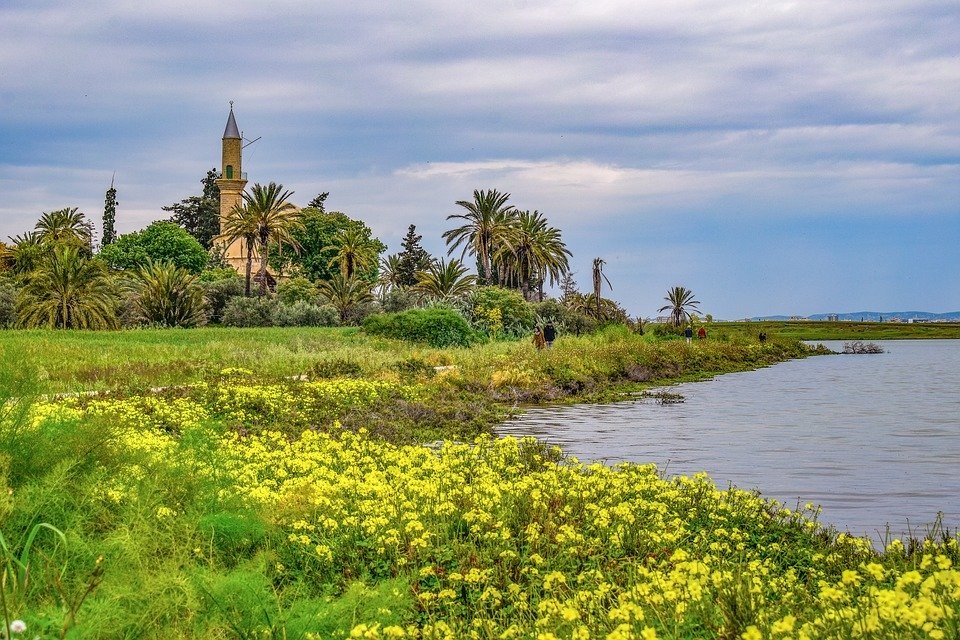 Hala Sultan Mosque and Salt Lake: one of the most beautiful places in Cyprus
