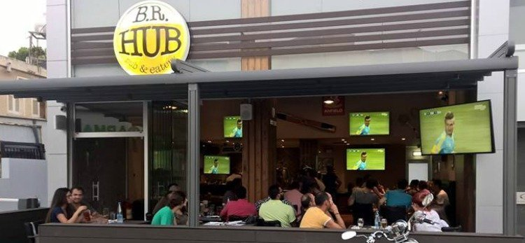 B.R. Hub pub and eatery