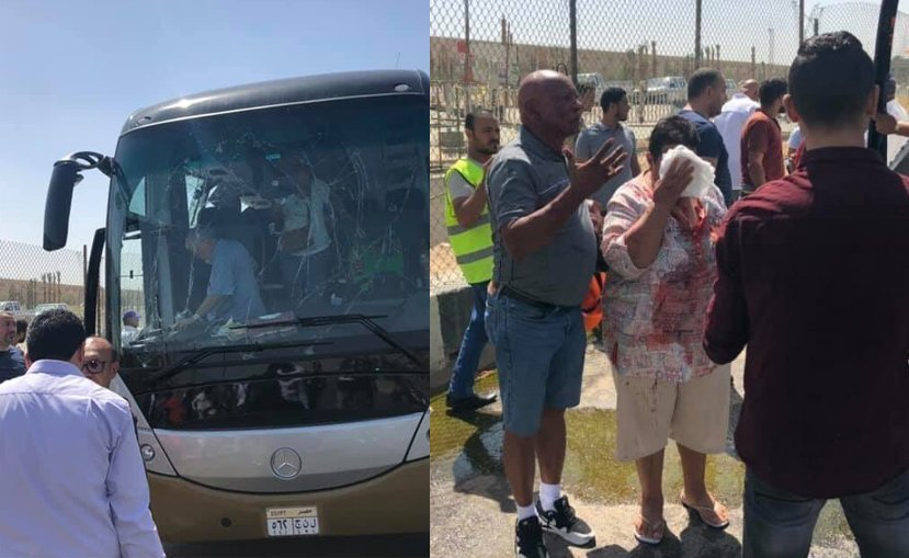 UPDATE - Blast injures South African tourists near Egypt's Giza pyramids (pics)