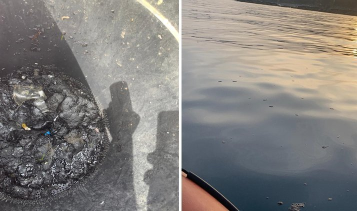 Updated: Efforts underway to tackle large oil spill off Limassol Bay (photos)