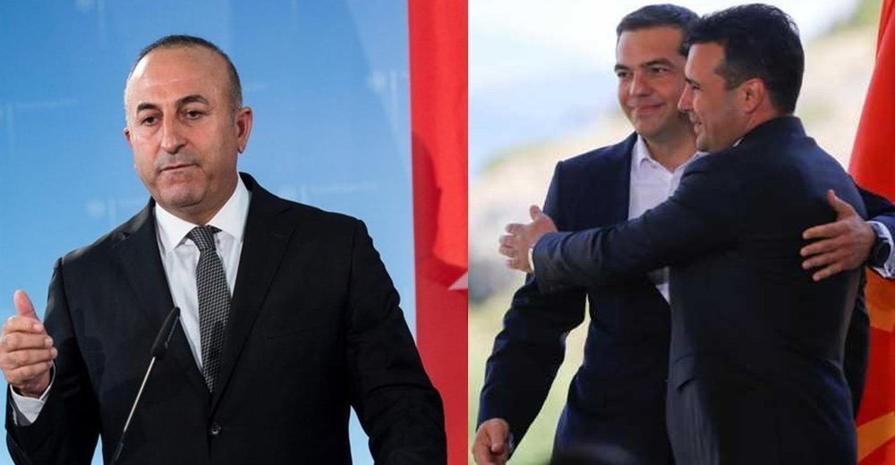 Government comments on Çavuşoğlu's remarks and the Prespes agreement