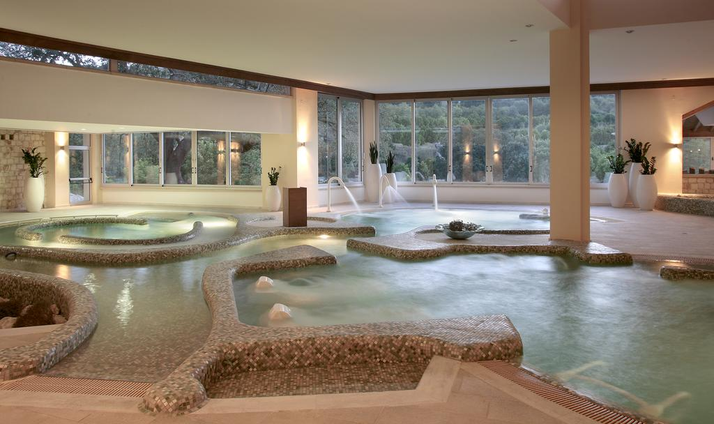 The swimming pool at or close to Ayii Anargyri Natural Healing Spa Resort