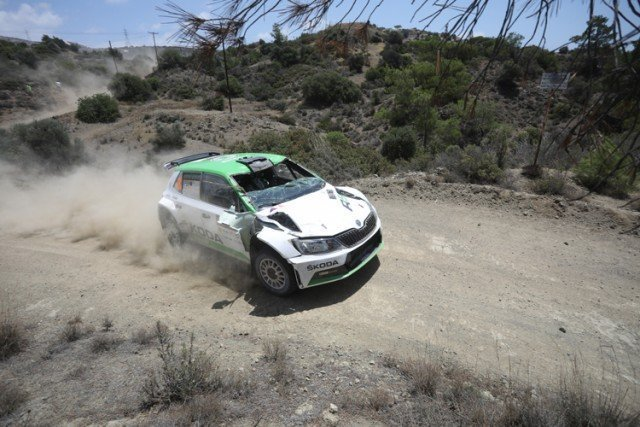 Cyprus rally special stages cancelled after collision; no injuries