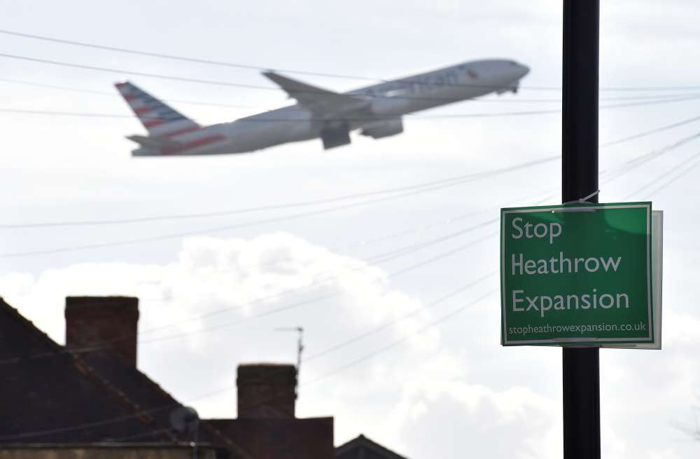 British MPs set to vote on Heathrow Airport runway plan