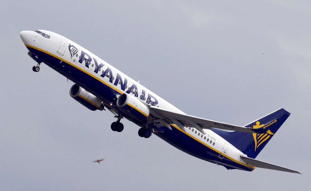Ryanair EU's 10th biggest polluter