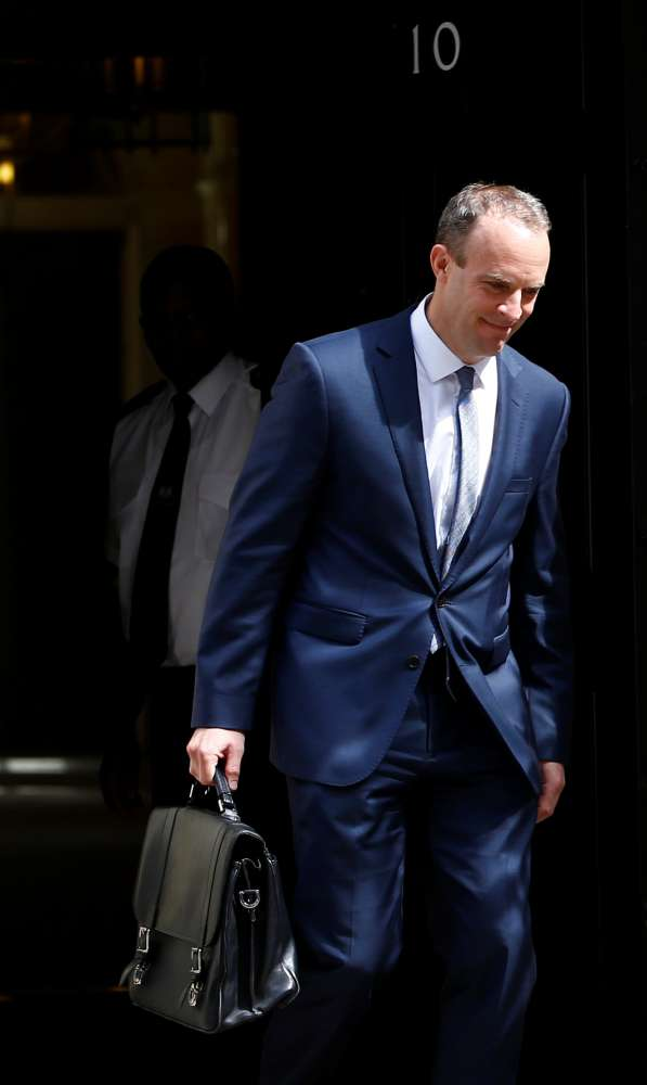 May appoints Dominic Raab as new Brexit minister