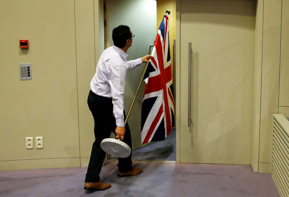 EU executive says Britain sent in
