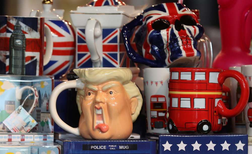 Trade and tea with queen for Trump on visit to Britain in