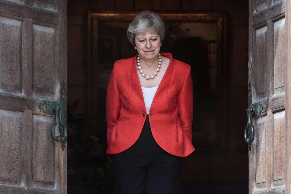 PM May says Britain will not compromise over Brexit plan