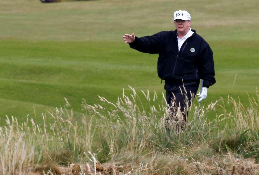 U.S. pays Trump's Scotland golf resort $77