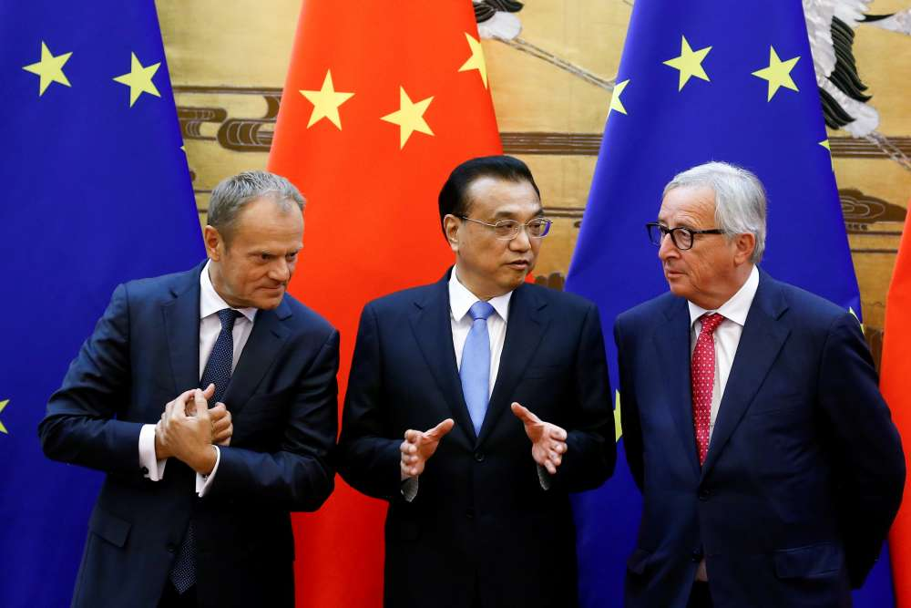 EU pushes China on trade