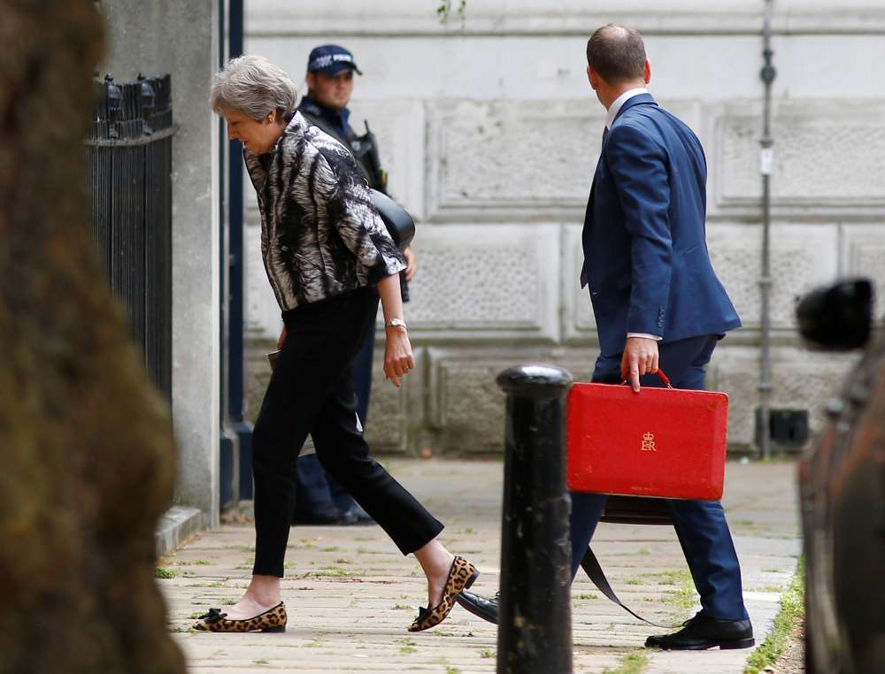 Support for May's handling of Brexit falls to record low: ORB poll