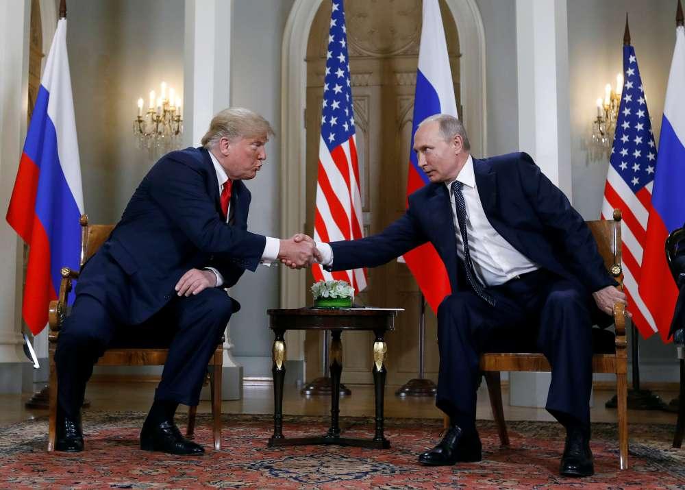 Trump meets Putin after denouncing