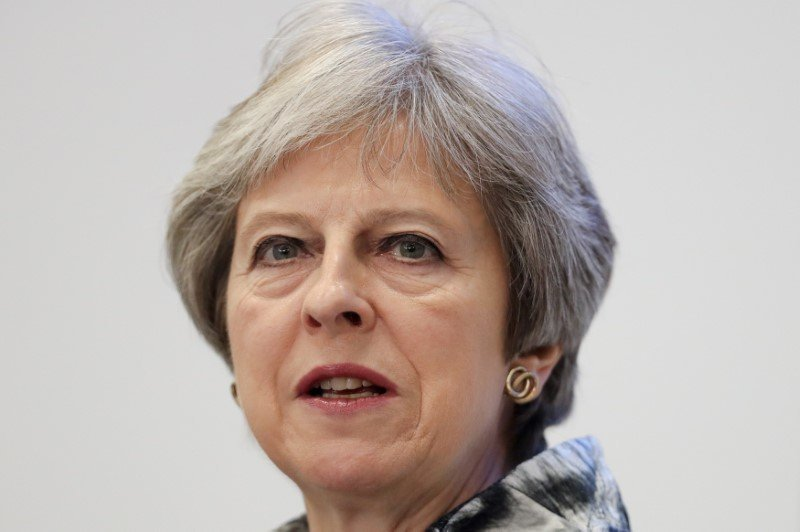 May says parliament blocking Brexit is more likely than 'no deal'