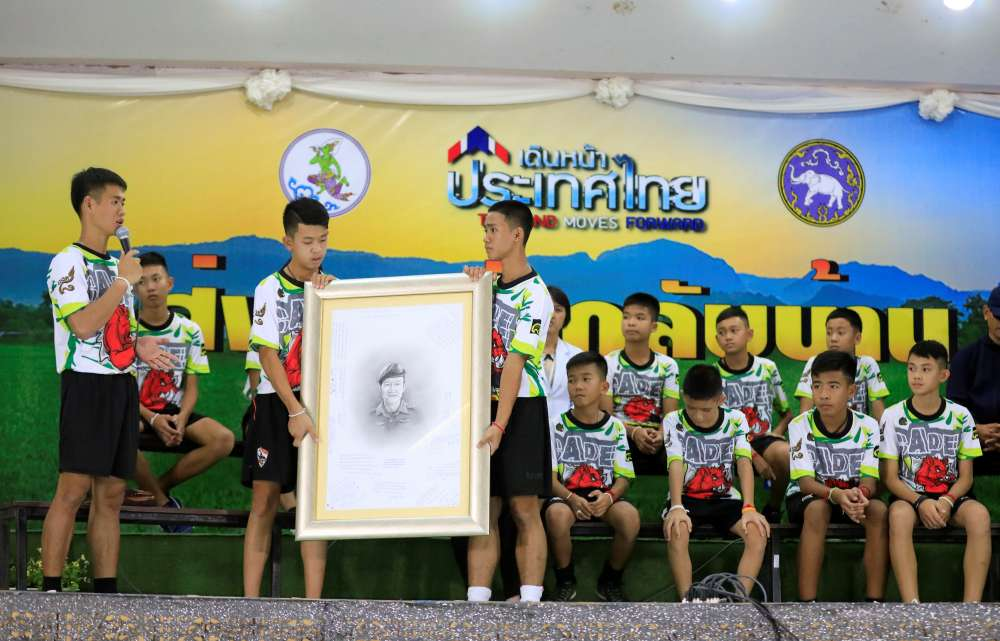 Thai boys relive ordeal in broadcast
