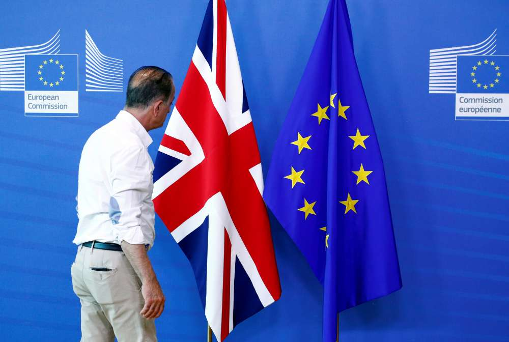 Distrustful EU to examine Britain's latest Brexit offer