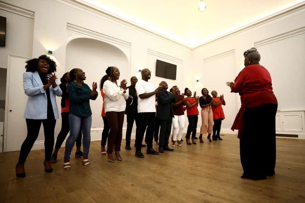 Royal wedding gospel choir gets record deal