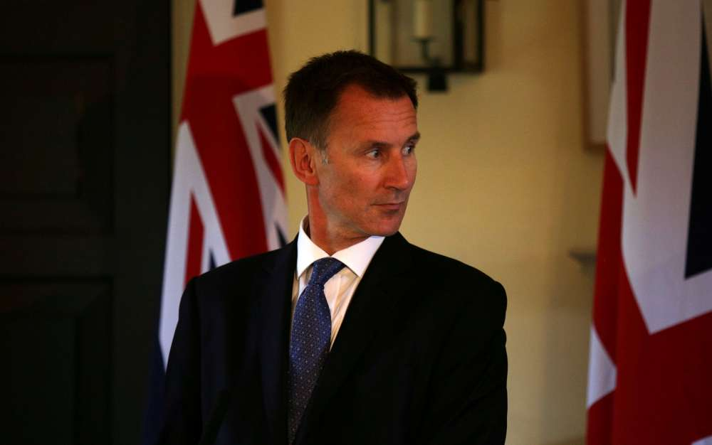 "Jeremy Hunt: Cyprus issue ""not insoluble"""