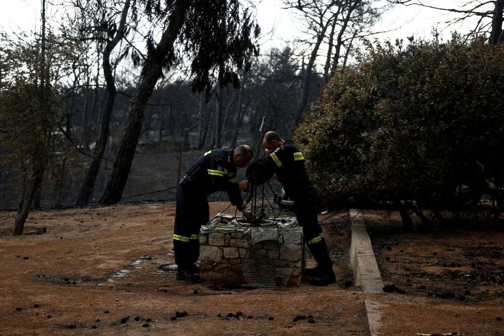 Greek fire victims sue authorities over deaths in Mati