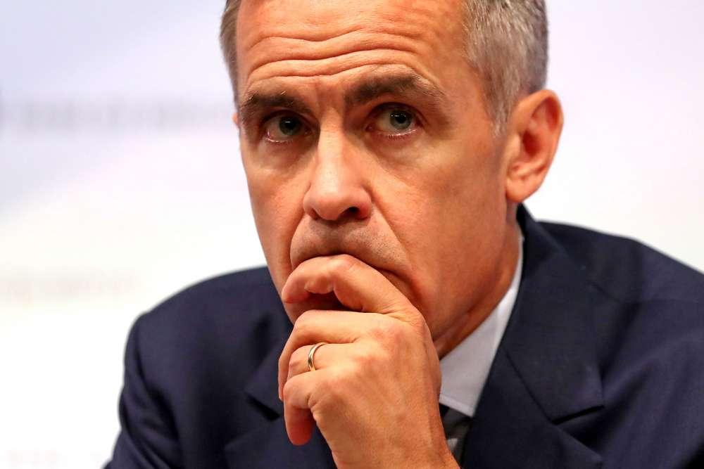 BoE's Carney dismisses Johnson trade claim on no-deal Brexit