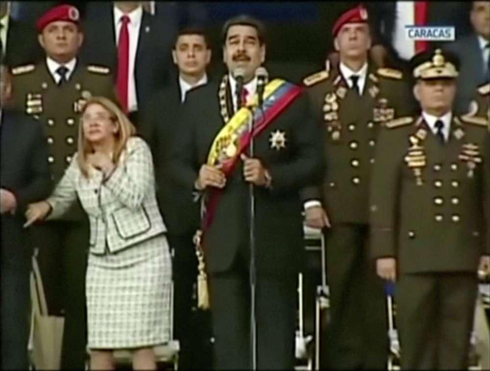 Venezuela: Maduro says drone blast was bid to kill him