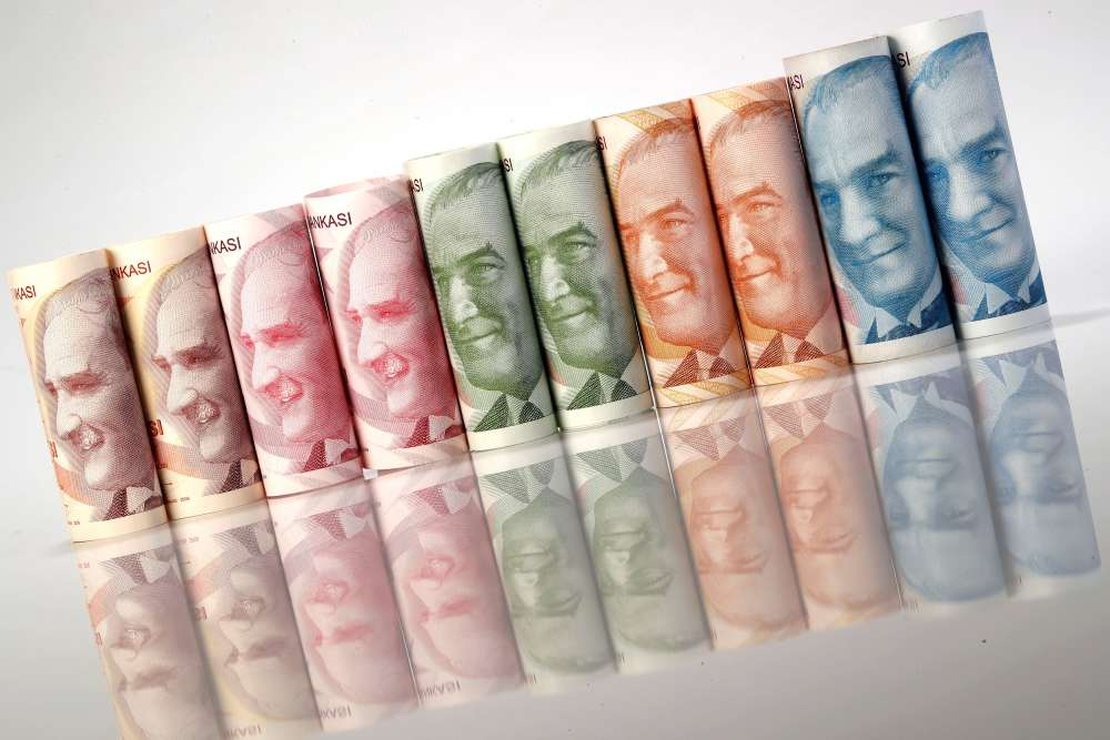 Turkish lira weakens