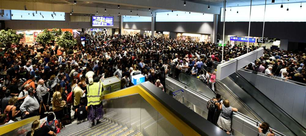 Parts of Frankfurt Airport evacuated after security breach