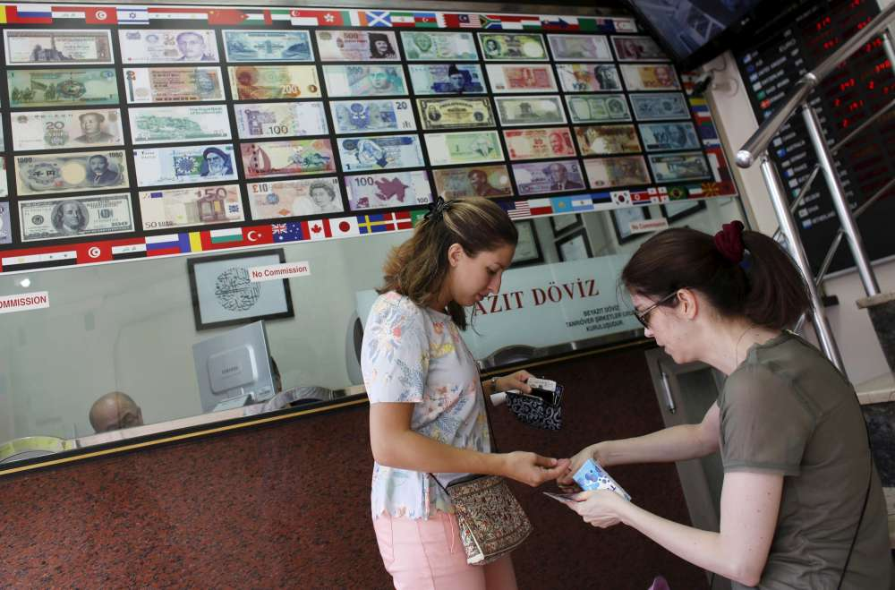 Turkish lira crashes to record low on worries over economy