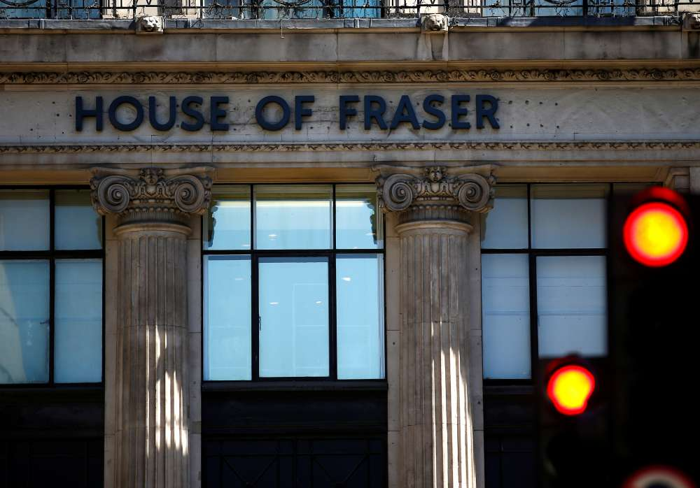 UK retailer House of Fraser set to appoint administrators - BBC
