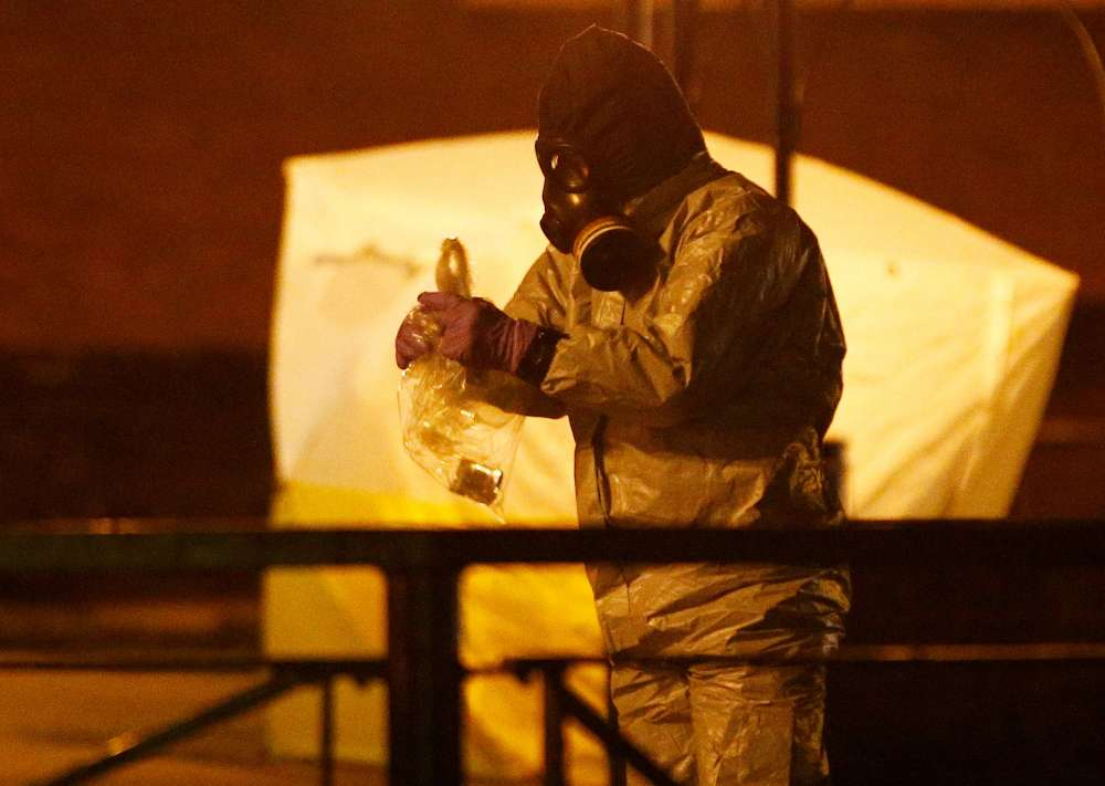 Kremlin calls British allegations in spy poisoning unacceptable