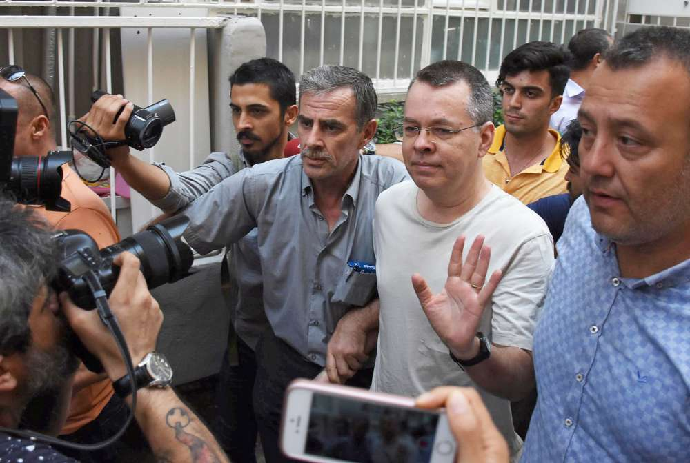Turkish court rules to release U.S. pastor Brunson